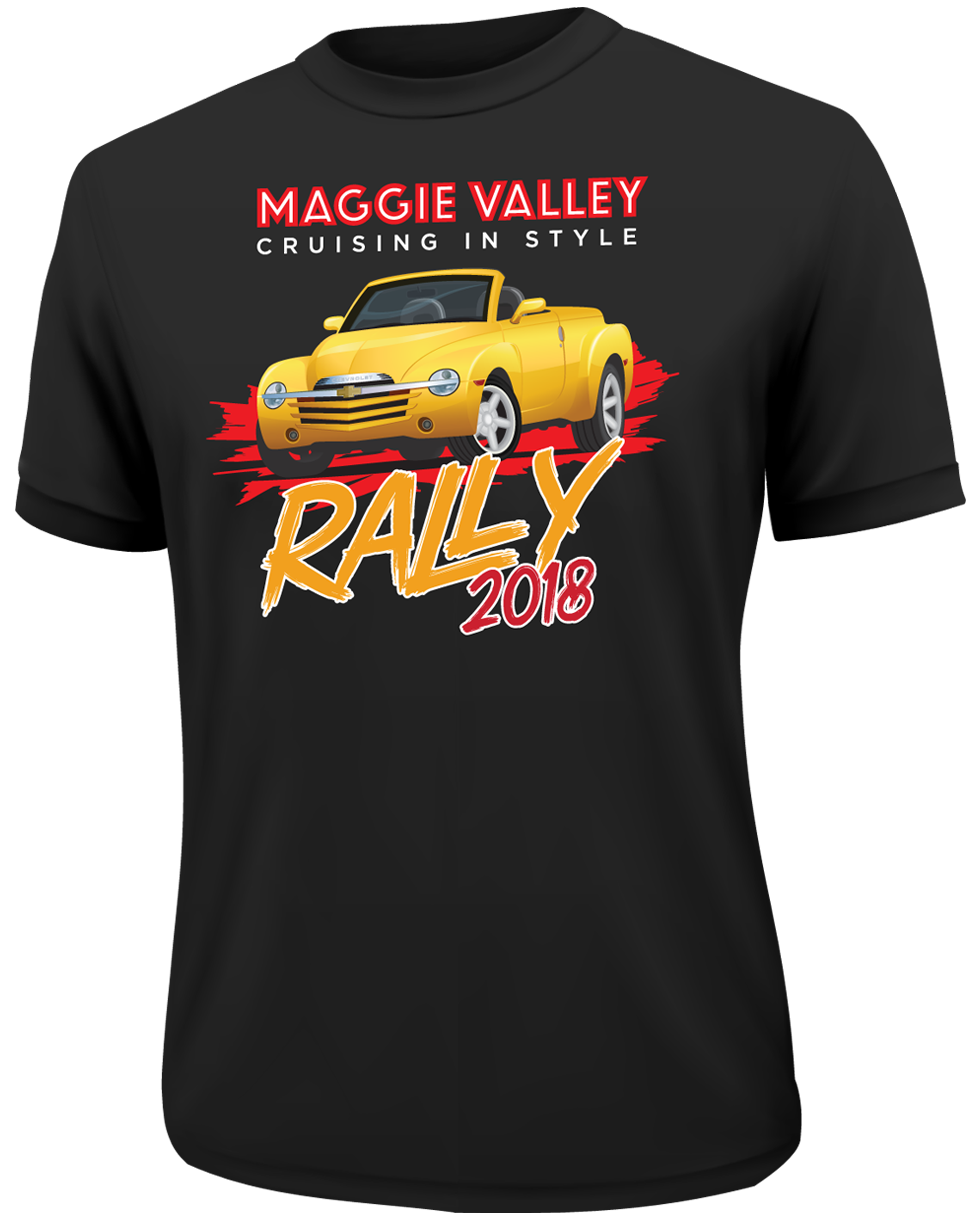 Maggie Valley Rally 2018 T-Shirt Design