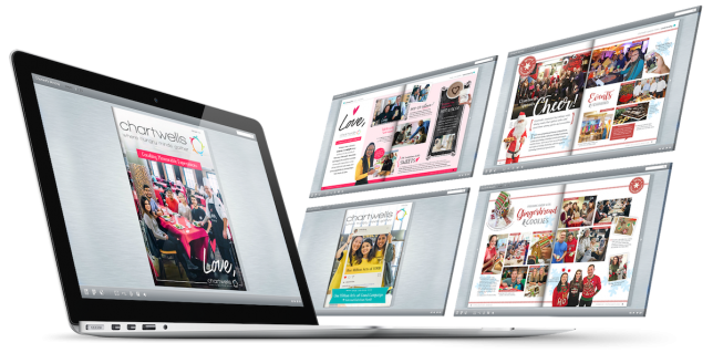 Graphic Design of Interactive Magazines and Newsletters